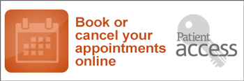 Book or cancel your appointments online